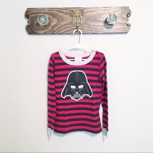 Hanna Andersson Star Wars PJ Top Size 6